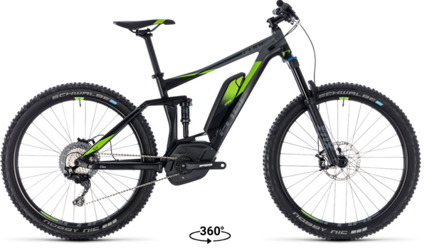 Cube Stereo Hybrid 140 Race 500 27.5 Electric Full Suspension MTB