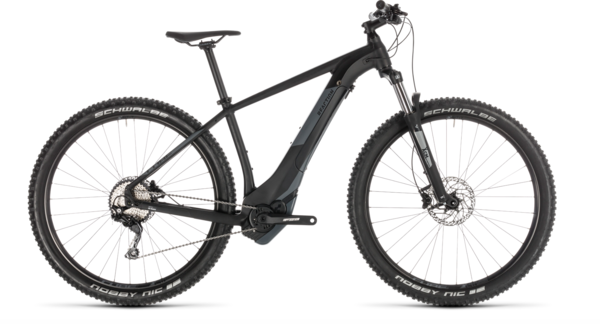 Cube Reaction Hybrid EXC 500 Electric HT MTB Black/Grey