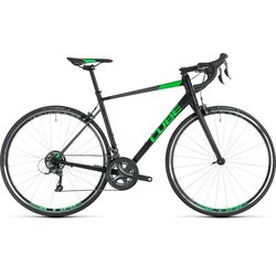 Cube Attain Claris Road Bike Black/Green