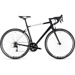 Cube Attain SL 105 Road Bike Black/White