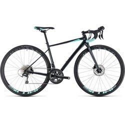 Cube Axial Race Disc Women's Tiagra Road Bike Iridium/Mint