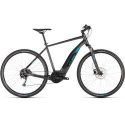 Cube Cross Hybrid ONE 400 Electric Hybrid Black/Blue