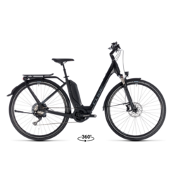 Cube Touring Hybrid EXC 500 Easy Entry 58cm/XL Electric Hybrid Black