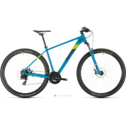 Cube Aim Disc HT MTB Blue/Green