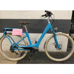 Cube 2016 Cube Elly Ride Hybrid 400 Electric Bike Blue/Red Step-Thru 46 Electric Step-Thru Comfort Hybrid - CONSIGNMENT