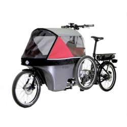 Wike eCargo Salamander Stroller Bike