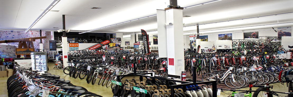 Action Sports showroom