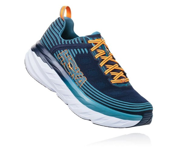 Hoka One One Bondi 6 Color: BISB - Black Iris/Storm Blue