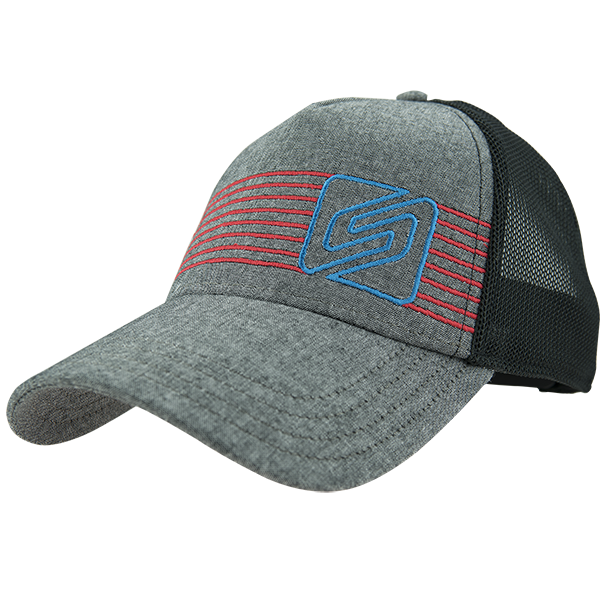 Spark A Line Trucker by Endurance Threads Color: Black Oxford/Black