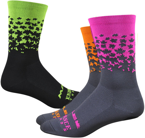 "Ride Maple LOTW 6"" Race Sock - Neon"