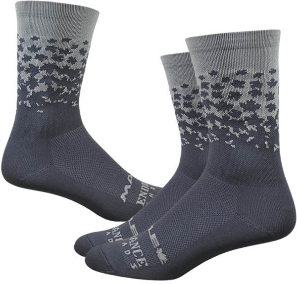 "Ride Maple LOTW 6"" Race Sock - Cool Gray"