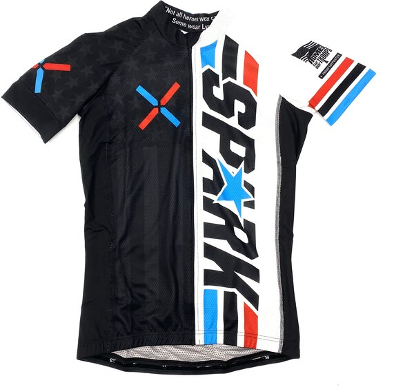 Spark Duke X SS Jersey White - Womens
