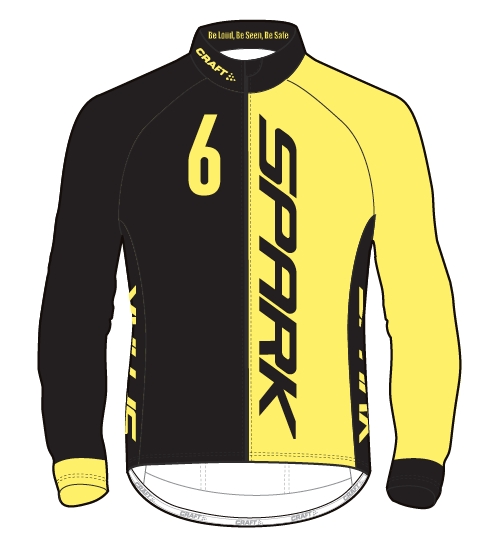Spark Mens 6GLO PBC LS Jersey by Craft