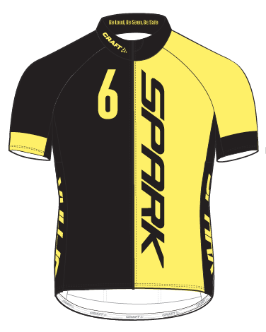 Spark Mens 6GLO PBC SS Jersey by Craft