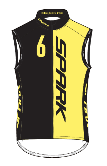 Spark Womens 6GLO PBC Wind Vest by Craft