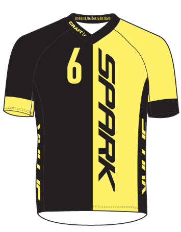Spark Mens 6GLO ABC MTB Jersey by Craft