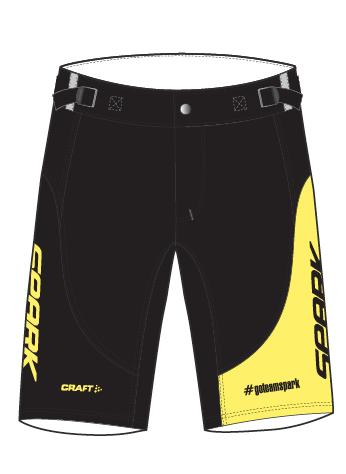 Spark Mens 6GLO ABC MTB Shorts by Craft
