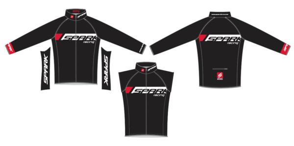 Spark HTFU Convertible Jacket by DNA Cycling