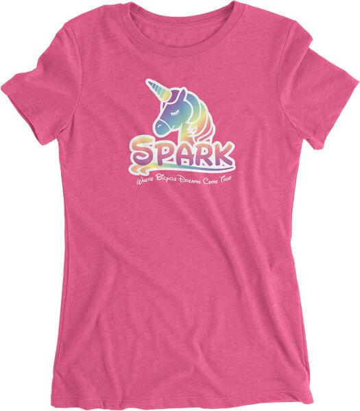 Spark UniSparkle Womens Tee by Endurance Threads