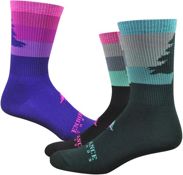 "Endurance Threads NEAF Stripey 6"" Sock - Colors!"