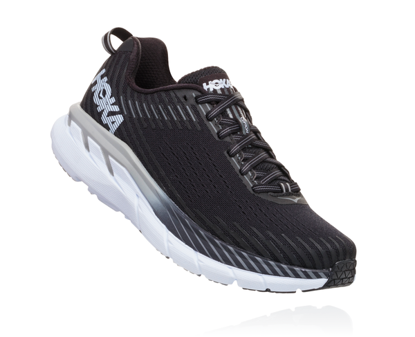 Hoka One One Clifton 5 - Womens Color: BWHT - Black/White
