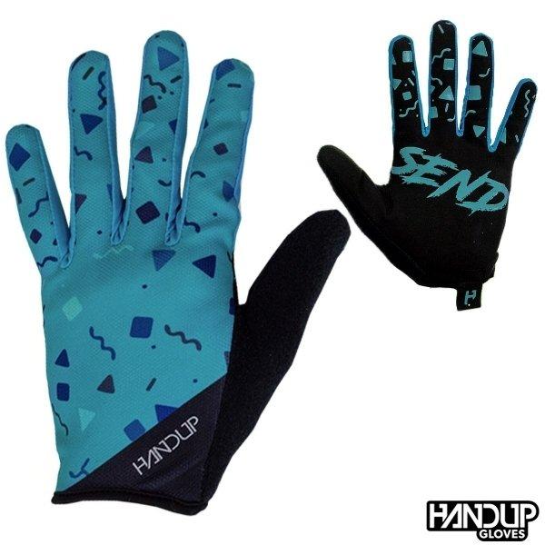 Handup Gloves Full Send - Confetti - Blue/Teal