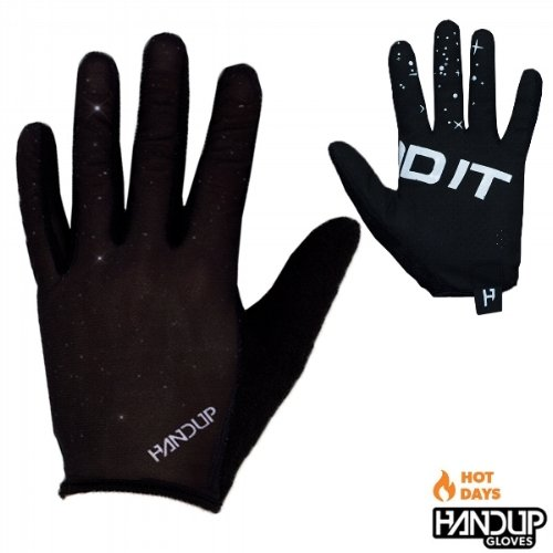 Handup Gloves Send It Lite - Starry Night - Black/White