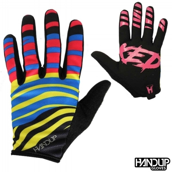 Handup Gloves Stoked - Zebra Party - Cyan/Magenta/Yellow/Black