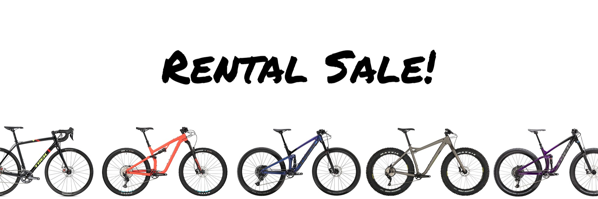 Rental Sale!