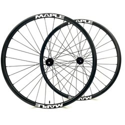 Ride Maple Carbon Wheels and Hold Fast Tubeless - www
