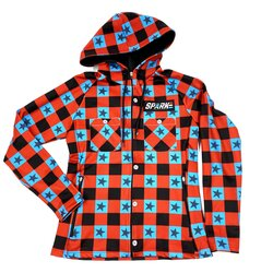 Spark Duke Plaid Hoody - Womens