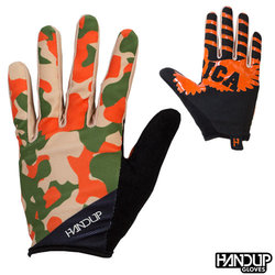 Handup Gloves 'Merica - Tan Camo - Tan/Orange/Olive