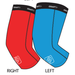 Spark Team BC Knee Warmers by Craft