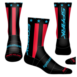 Spark Patriot Socks by DNA - Black RB