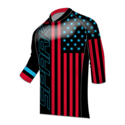 Spark Patriot Freeride 3/4 Jersey - Black RB