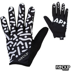 Handup Gloves Braaap - Switchback - Black/White