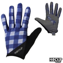 Handup Gloves Shred the Gnar - Lumberjack Flannel - Navy/Grey