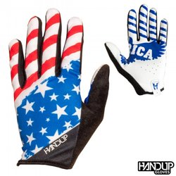 Handup Gloves 'Merica - USA - Red/White/Blue