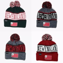 Endurance Threads New England Pom Pom Beanie