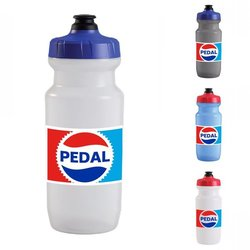 Endurance Threads Retro Pedal 21oz Water Bottle