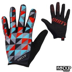 Handup Gloves Ride Dirty - PRIZM - Red/Teal/Grey