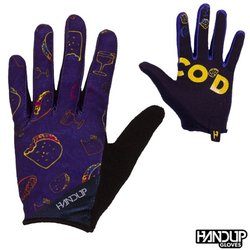 Handup Gloves Taco'D - Taco Tuesday - Purple/Yellow/Cyan