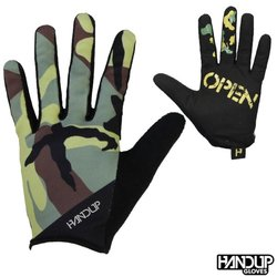 Handup Gloves Wide Open - Trad Camo - Olive/Green/Tan