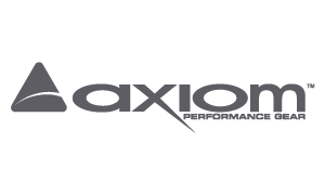 axiom performance gear logo - link to catalog