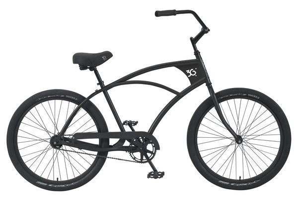 "3G Venice Mens Steel Frame 26"" - 1 Speed Cruiser"