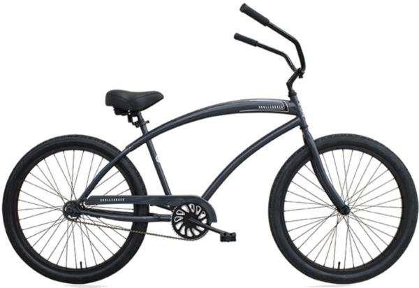 Huntington Beach Bicycle Company Skull X Bones Men's