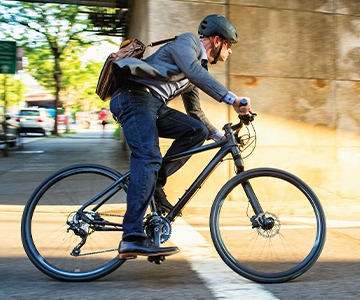 Commuter Hybrid Bicycles