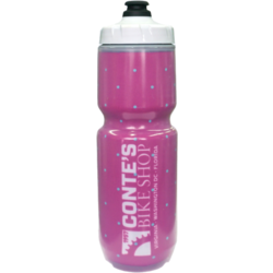 Conte's Purist Pink Lori Insulated Bottle 23oz