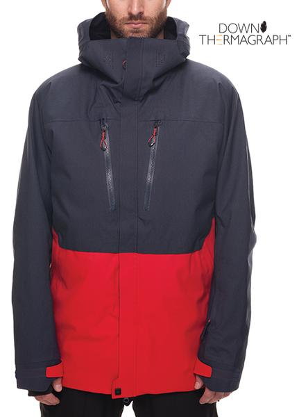 686 Authentic Mens GLCR ETHER DOWN THERMAGRAPH JACKET