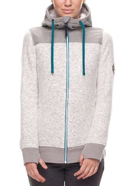 686 Authentic Womens FLO ZIP POLAR FLEECE HOODY